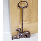Egyptian Style Door Porter in Rustic