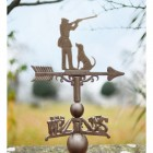 Large Rustic Game Season Weathervane Top