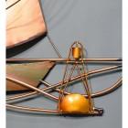 Yellow Metallic Buoy on the Wall Art