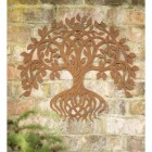 Rustic Twisting Tree Wall Art in Situ