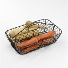 Hetty's Rustic Wire Basket or Cutlery Tray