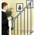 """""""Grosvenor"""" Rope Twist Stair Spindle with Brackets"""