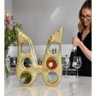 'Angel Wings' Wine Rack in Kitchen Setting