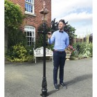 Copper Harrogate Lamp Post 2.25m
