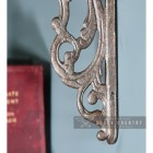Close-up of the Scroll Design on the Victorian style Shelf Bracket