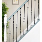 Black Iron Stair Spindles On Staircase