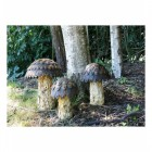 """Rivendale"" Enchanted Mushroom Garden Decorations"