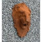 Side View of Cast Iron Lion Sculpture