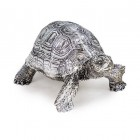 Tortoise Ornament in a Silver Finish