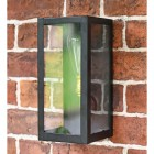 Close-up of the Rectangular Simplistic Outdoor Wall Light