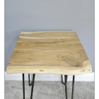 Simplistic Side Table With Acacia Wooden Top