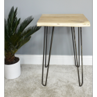 Simplistic Side Table Created In Situ In The Living Room