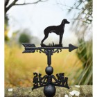 Sloughi Dog Weathervane