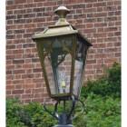 Medium Antique Brass Gothic Lantern