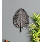 Small Black Palm Leaf Ornamental Wall Art