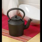 Small Cast Iron Decorative Kettle