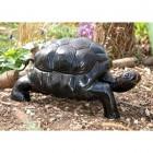 Bronze Finish Metal Tortoise Sculpture