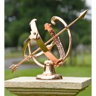 Traditional Armillary Crated From Solid Polished Copper