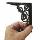Trellis Iron Shelf Bracket 13 x 10cm