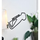 Snetterton Race Track mounted to wall