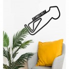 Snetterton Race Track Wall Art in Situ in the Sitting Room