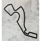 Sochi Motor Circuit Wall Art in Situ