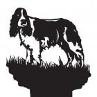 Springer Spaniel Dog Weathervane Top