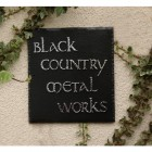 """""""Meadow View"""" Square Slate House Name Sign"""