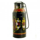 Standard Black Traditional Hand Painted Milk Churn Planter