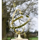 View of the Serpent Armillary From the Side