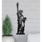 Statue of Liberty Wall Art Created Out of Steel