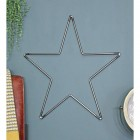 Star Hanging Wall Art Created From Steel