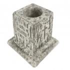Stone Effect Pet Memorial Vase