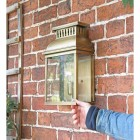 """""""Stoneford Park"""" Half Wall Lantern to Scale"""