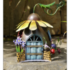 Sunflower Fairy Flower House Ornament