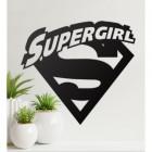 'Supergirl' Wall Art in Situ in the Living Room
