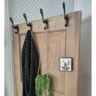 Black Swan Coat Hooks In-Situ