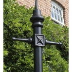 Lincoln Swan Neck Lamp Post Set 3.4m