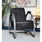 """""""The Bucknell"""" Iron & Black Leather in Situ"""
