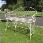 The Claire Wrought Iron Bench