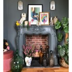 Fireplace and Fire Basket