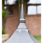 Spire Style Finial on the Top of the Pillar Light