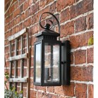 Side View of the Traditional Flush Coastal Wall Lantern