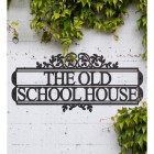 Ornate Foliage House Name Sign Displaying the House Name
