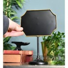 Antique Bronze Vintage Chalk Board to Scale