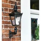 Traditional Victorian style Wall Lantern with ornate bracket