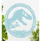 T-Rex Wall Art Finished in Blue