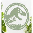 T-Rex Wall Art Finished in Sage Green