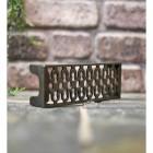 Ventilation air brick natural cast iron