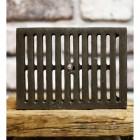 "Cast iron Adjustable air vent 9"" x 6"""